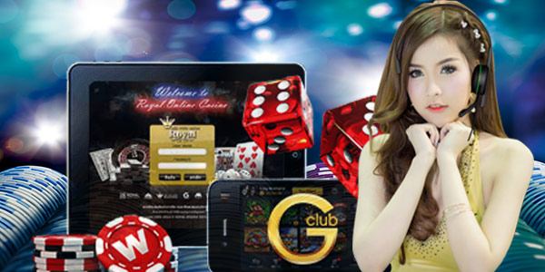 Online casino gclub can be played anywhere, anytime via smartphone.